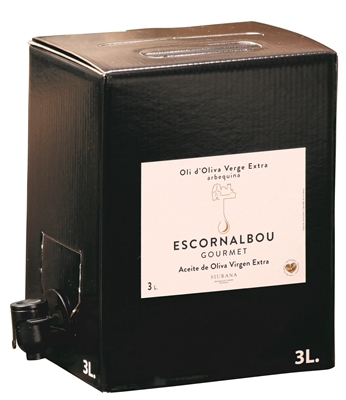Bag in Box Oli d'oliva verge extra Escornalbou Gourmet